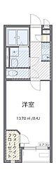 東京都日野市万願寺6丁目の賃貸アパートの間取り