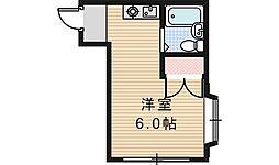 シェトワ阪南[101号室]の間取り