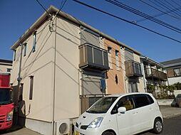 東京都町田市玉川学園5丁目の賃貸アパートの外観