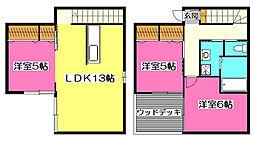 [一戸建] 埼玉県所沢市小手指元町1丁目 の賃貸【/】の間取り