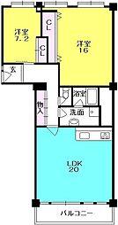 メゾン甲子園(二見町)[741号室]の間取り