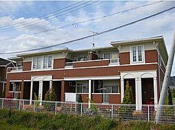 和歌山県紀の川市古和田の賃貸アパートの外観