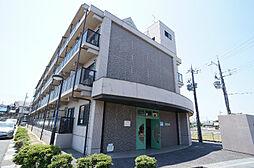 滋賀県草津市追分の賃貸マンションの外観