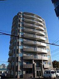 北海道札幌市白石区の賃貸マンションの外観