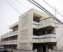 京都府京都市北区衣笠街道町の賃貸アパートの外観