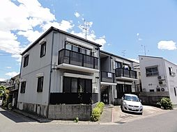 京都府京都市西京区川島松ノ木本町の賃貸アパートの外観