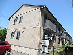 新潟県新潟市西区ときめき西3丁目の賃貸アパートの外観