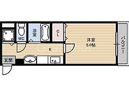 コータ・コート[2階]の間取り