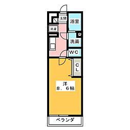 レガーメ野並[2階]の間取り