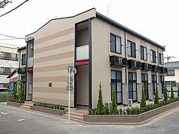 埼玉県三郷市三郷2丁目の賃貸アパートの外観