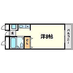 シーマ西宮[2階]の間取り