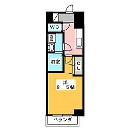 エントピア桜山[7階]の間取り
