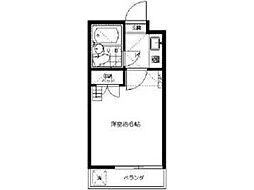 ジュネス稲田堤[2階]の間取り