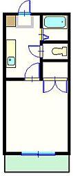 セントラルハイムC[302号室]の間取り