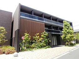 東京都調布市菊野台2の賃貸マンションの外観