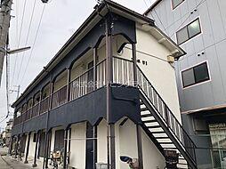 大阪府高槻市津之江町1丁目の賃貸アパートの外観