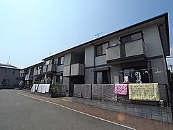 タウンコートオリビエA棟[201号室]の外観