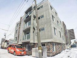 北海道札幌市白石区東札幌二条4の賃貸マンションの外観