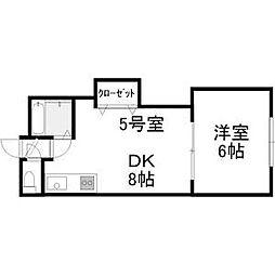 麻生SK[4階]の間取り