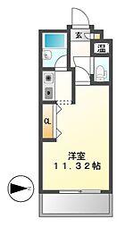 マンション悠山[1階]の間取り
