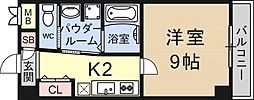 K-FLAT[806号室号室]の間取り
