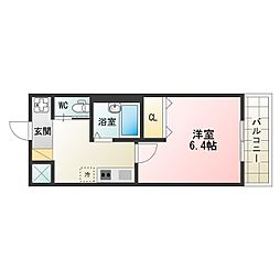 矢田駅 4.5万円