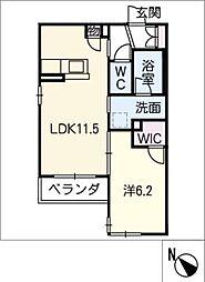 仮)シャーメゾン豊田市吉原町 3階1SLDKの間取り