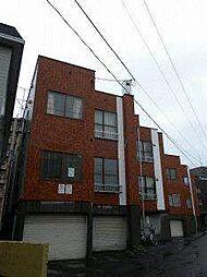 東札幌ハイツE[1階]の外観