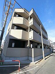 千葉県千葉市稲毛区稲毛東3丁目の賃貸アパートの外観