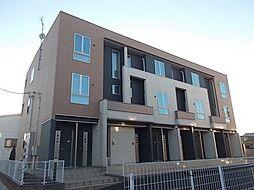 茨城県取手市戸頭4丁目の賃貸アパートの外観