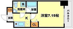 SERENiTE江坂壱番館[6階]の間取り