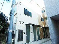 東京都北区上十条5丁目の賃貸アパートの外観