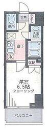 ザ・パーククロス藤沢[602号室]の間取り