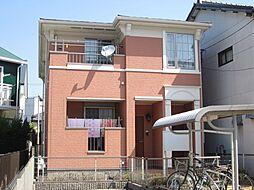 愛知県名古屋市北区大我麻町の賃貸アパートの外観