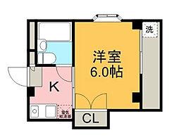 千葉県浦安市富士見1丁目の賃貸マンションの間取り