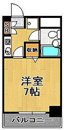 ライオンズマンション大正[2階]の間取り