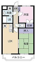 こうかマンション[2階]の間取り