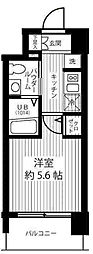 エスリード新大阪SOUTH[4階]の間取り