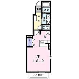 ブルームフィールドIII−A[0101号室]の間取り