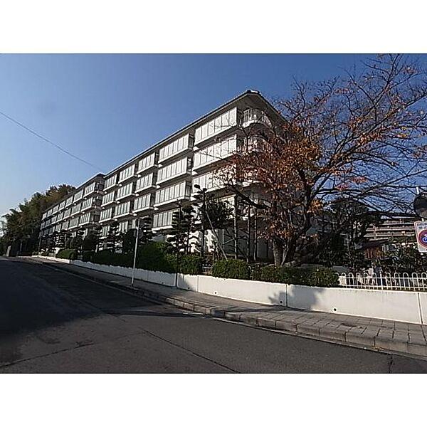 奈良県奈良市あやめ池南の賃貸マンションの外観
