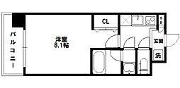 レジディア新大阪[11階]の間取り