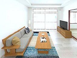 札幌市豊平区西岡五条13丁目 戸建て 5SLDKの居間