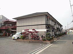 大阪府羽曳野市古市1丁目の賃貸アパートの外観