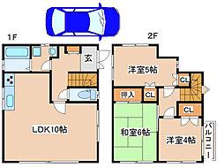 [一戸建] 兵庫県神戸市東灘区岡本7丁目 の賃貸【/】の間取り