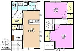 [テラスハウス] 長野県長野市下氷鉋1丁目 の賃貸【/】の間取り