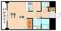 ローリス飯塚[1階]の間取り
