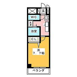 will Do 勝川[4階]の間取り