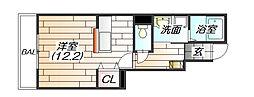 フォレストロード[1階]の間取り