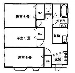 [一戸建] 東京都町田市玉川学園7丁目 の賃貸【/】の間取り