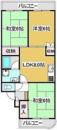 K&Iマンション青木[106号室]の間取り